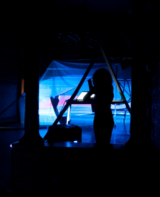 BIG BLUE EYE series. Action1. Screen Art.