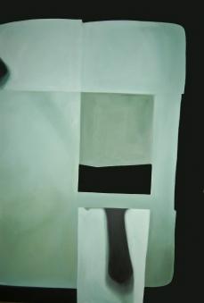 1 tríptico_Sonrisa para un spot_Aissa M. Santiso Camiade 2012.óleo_lienzo.180x120cm