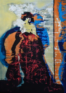 #47-die Tutorin_Regen series _ óleo sobre lienzo_80x120cm_aissa santiso2014