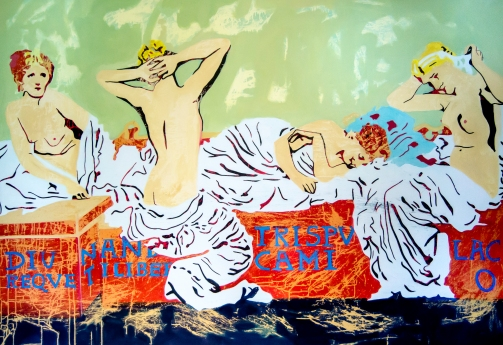 El sueño de Freud. aissa santiso. oil-canvas. 75 x 51,2´. 2017 (1 de 1)