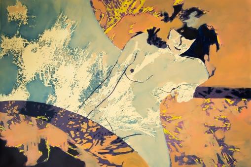 Eli. aissa santiso.oil on canvas.120x80cm