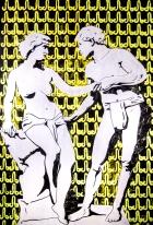 la caida. aissa santiso. oil-canvas. 47,2 x 71´, 2017 (1 de 1)