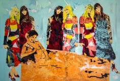 La Madonna, 51 x 74, oleo sobre lienzo, 2016