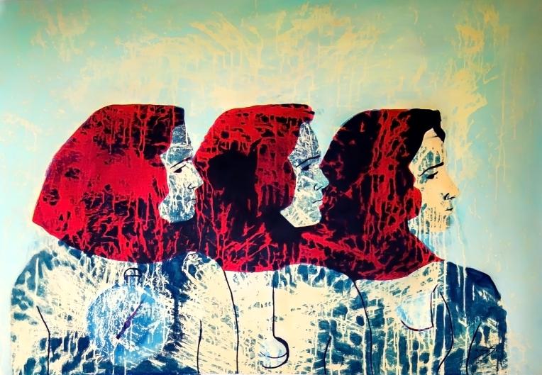 péndulo, 47 x 34 feet, oil on canvas, aissa santiso,2016 copia
