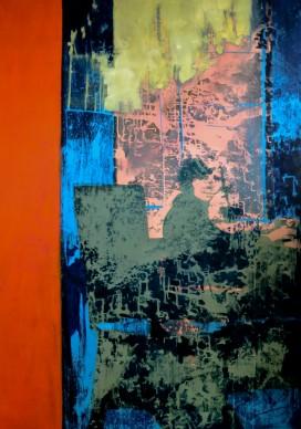 the mirrow.2014.aissa santiso.óleo_lienzo.180x120cm